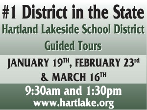 Guided Tours yard sign