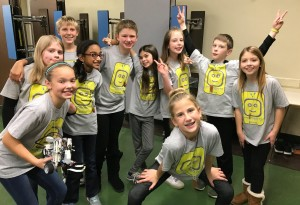 5th grade FLL Team